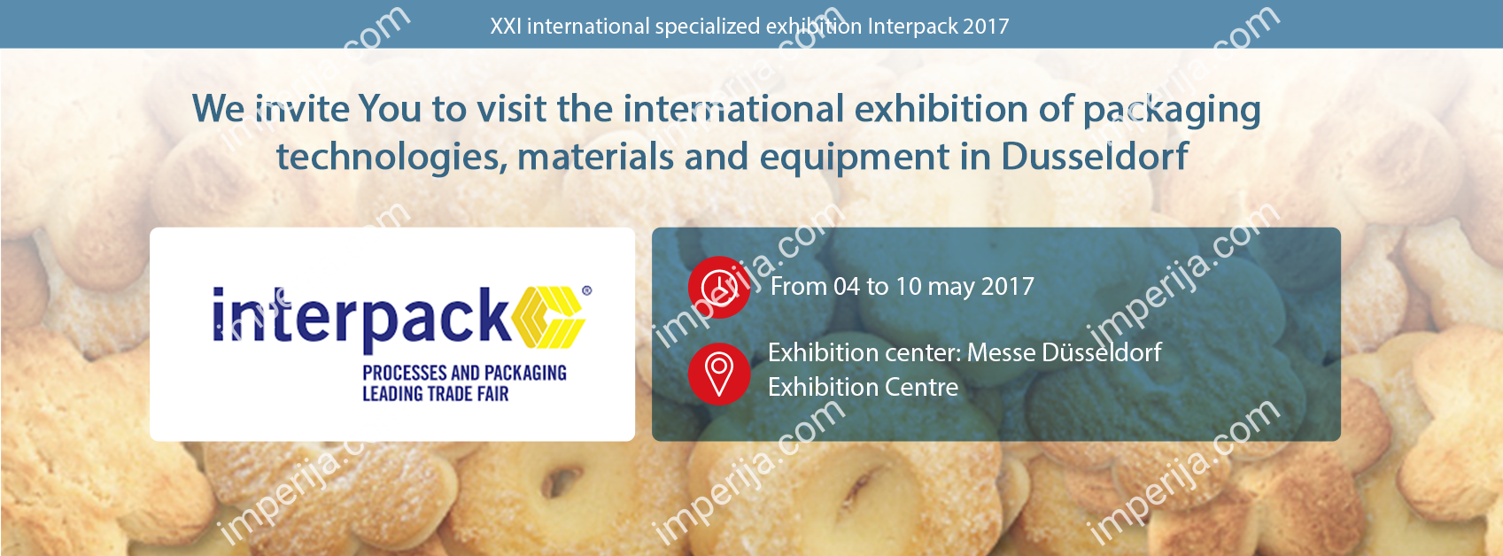 Invitation to Interpack 2017