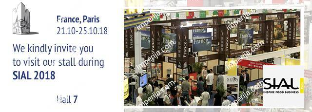 Invitation to the exhibition SIAL 2018